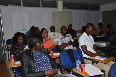 A cross section of participants of the Module 4 Training Programme