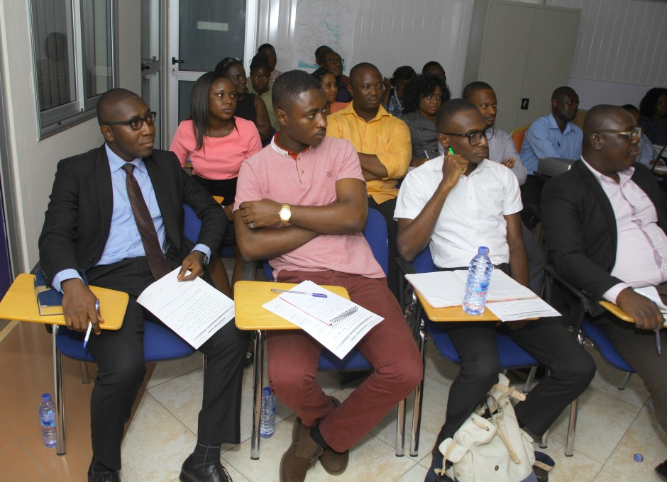 A cross section of participants in the lecture room